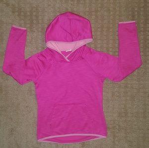 Girls microfleece lined hoodie